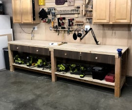 $100 10ft Workbench With Storage