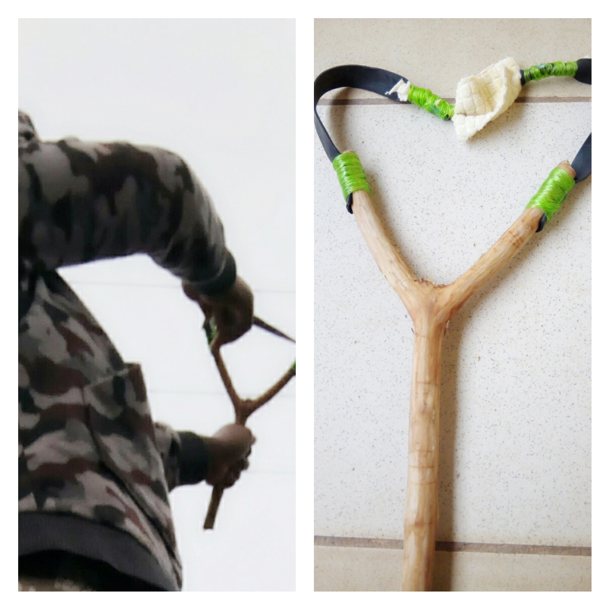 Picture of Homemade Slingshot by Reusing Old Tire Tubes