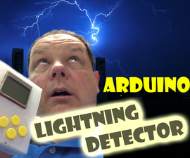 Arduino Pocket Lightning Detector