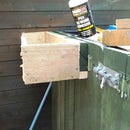 Installing a planter/window box.......... the easy way