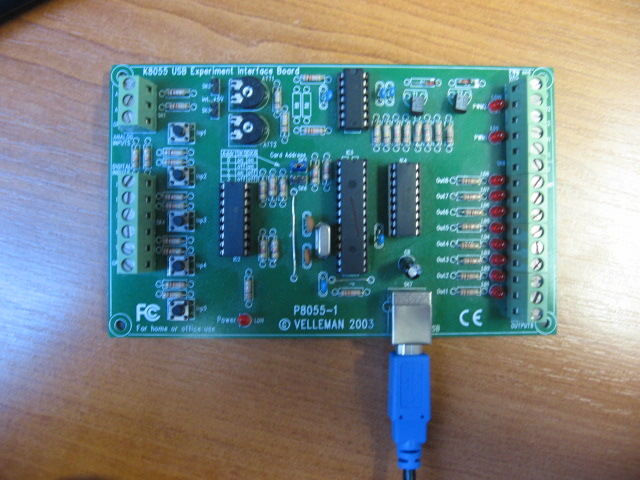 Picture of USB Interface Board