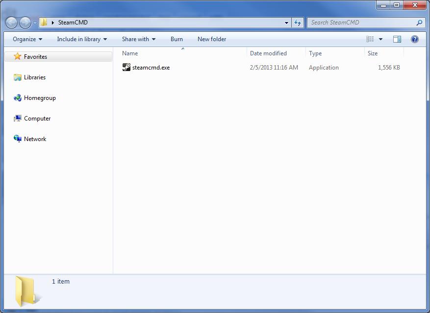Picture of Step 1: Obtain Steam CMD
