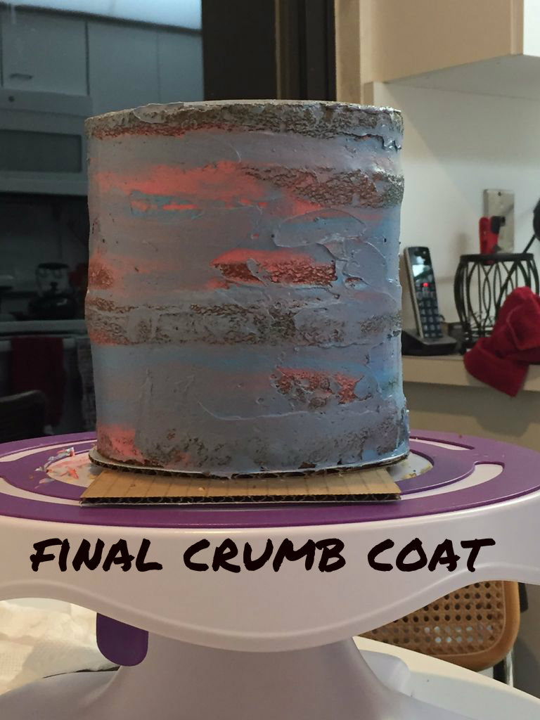 Picture of Fill and Crumb Coat Your Cakes