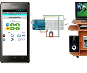 Control Your Tv, Dvd and Audio System With Arduino and Android