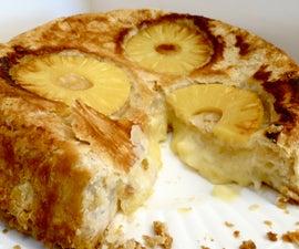 Pi Napple Upside Down Pie