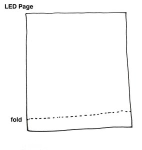 Fold Your Switch on the LED Page