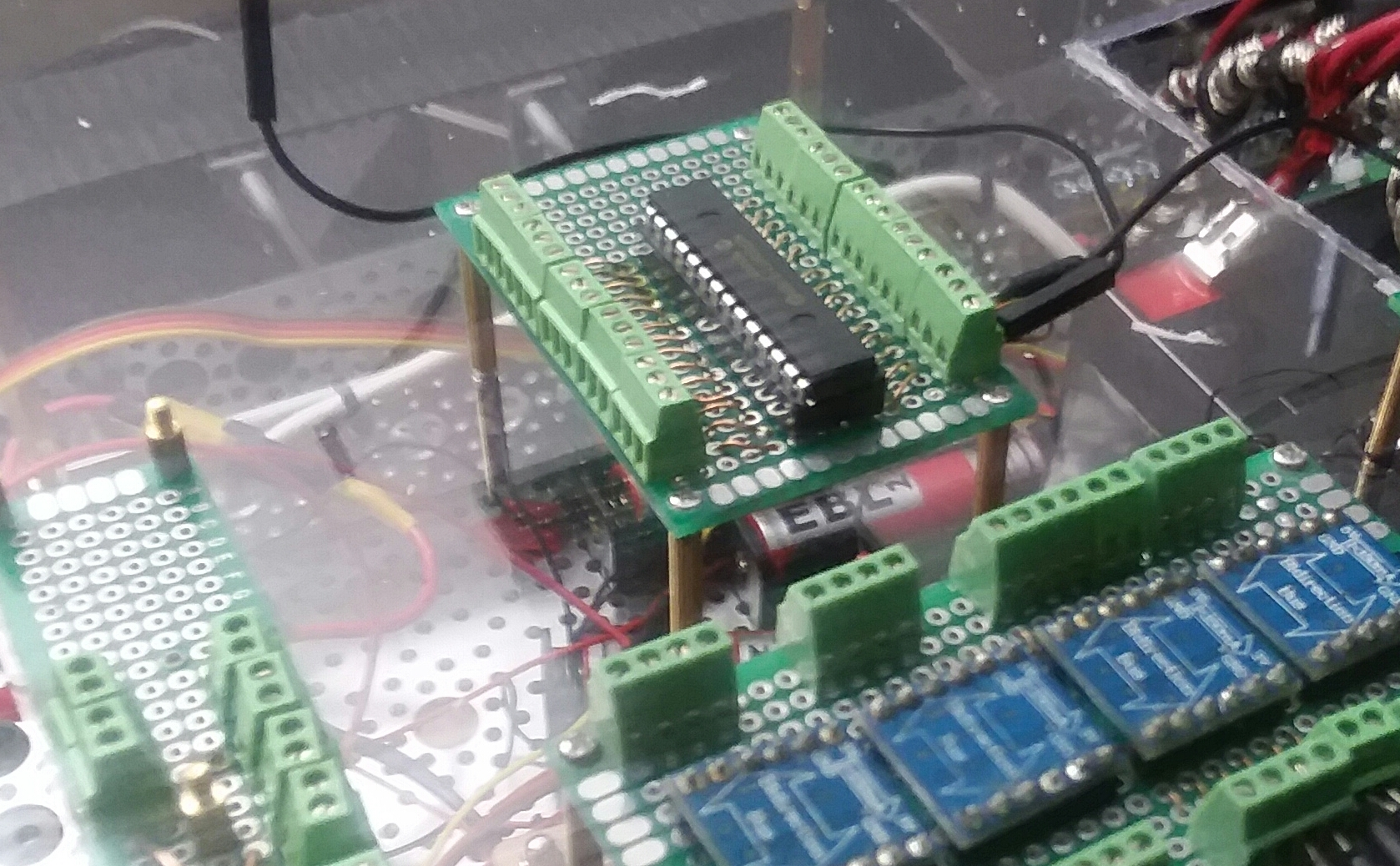 Picture of Time to Add the Breakout Board Circuits