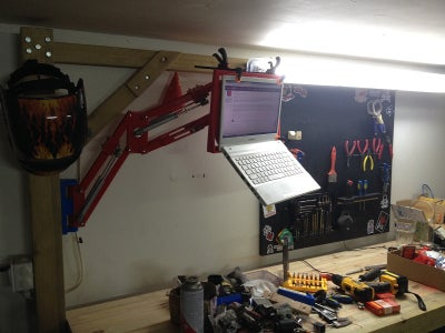The Incredible 3D Printed Laptop Arm