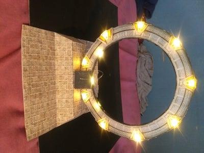 Minature Light Up Stargate Model