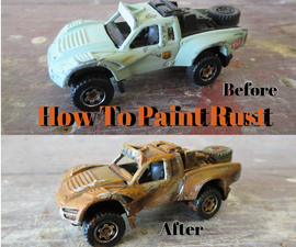 How to Paint Rust Effect