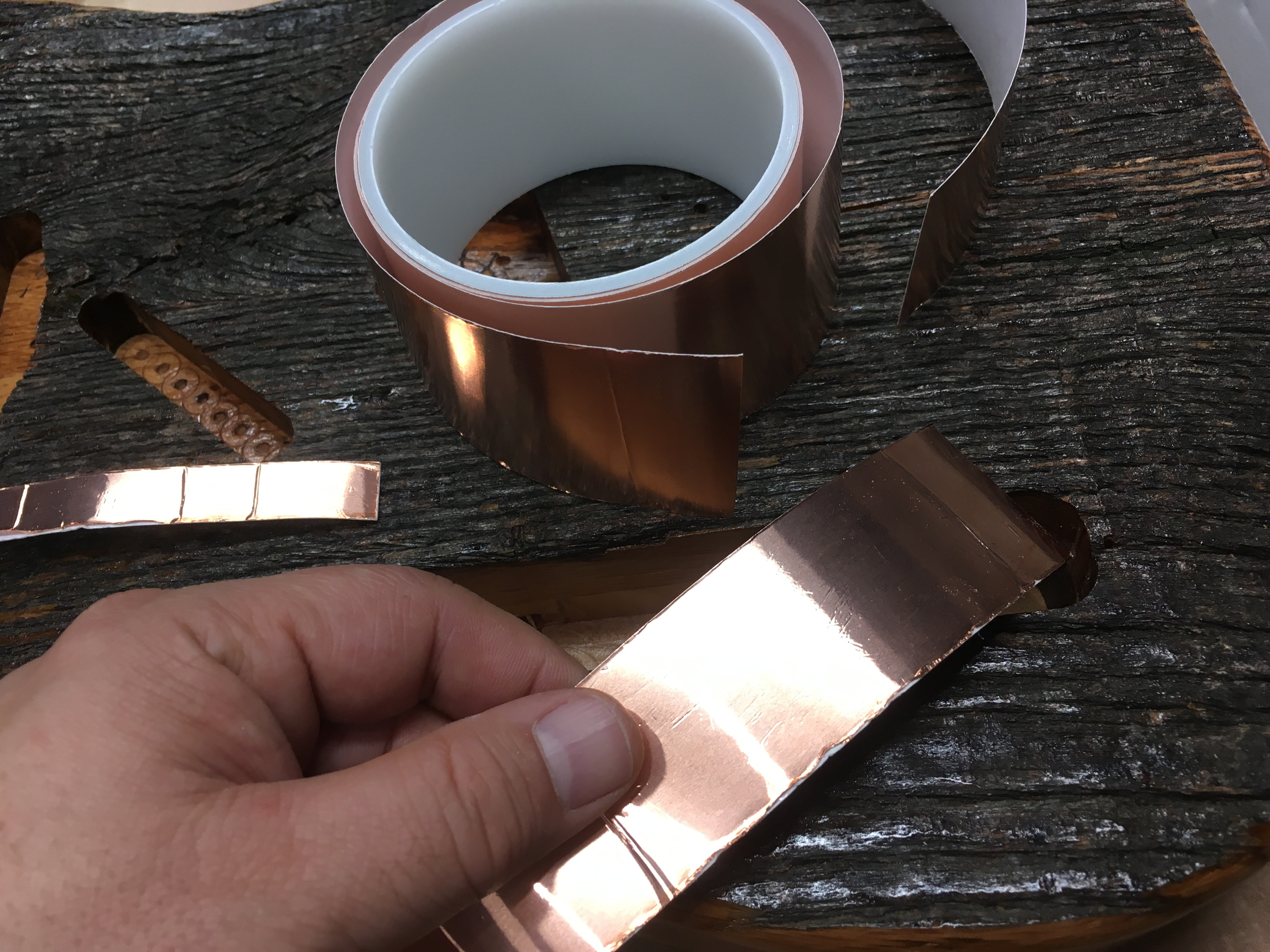 Picture of Foil Shielding in Body Cavities