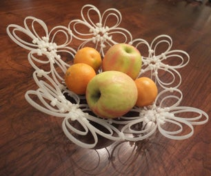Zip Tie Fruit Bowl