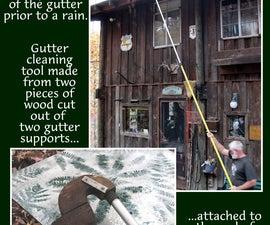 Rain gutters that don't clog