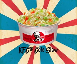 KFC® Cole Slaw DIY