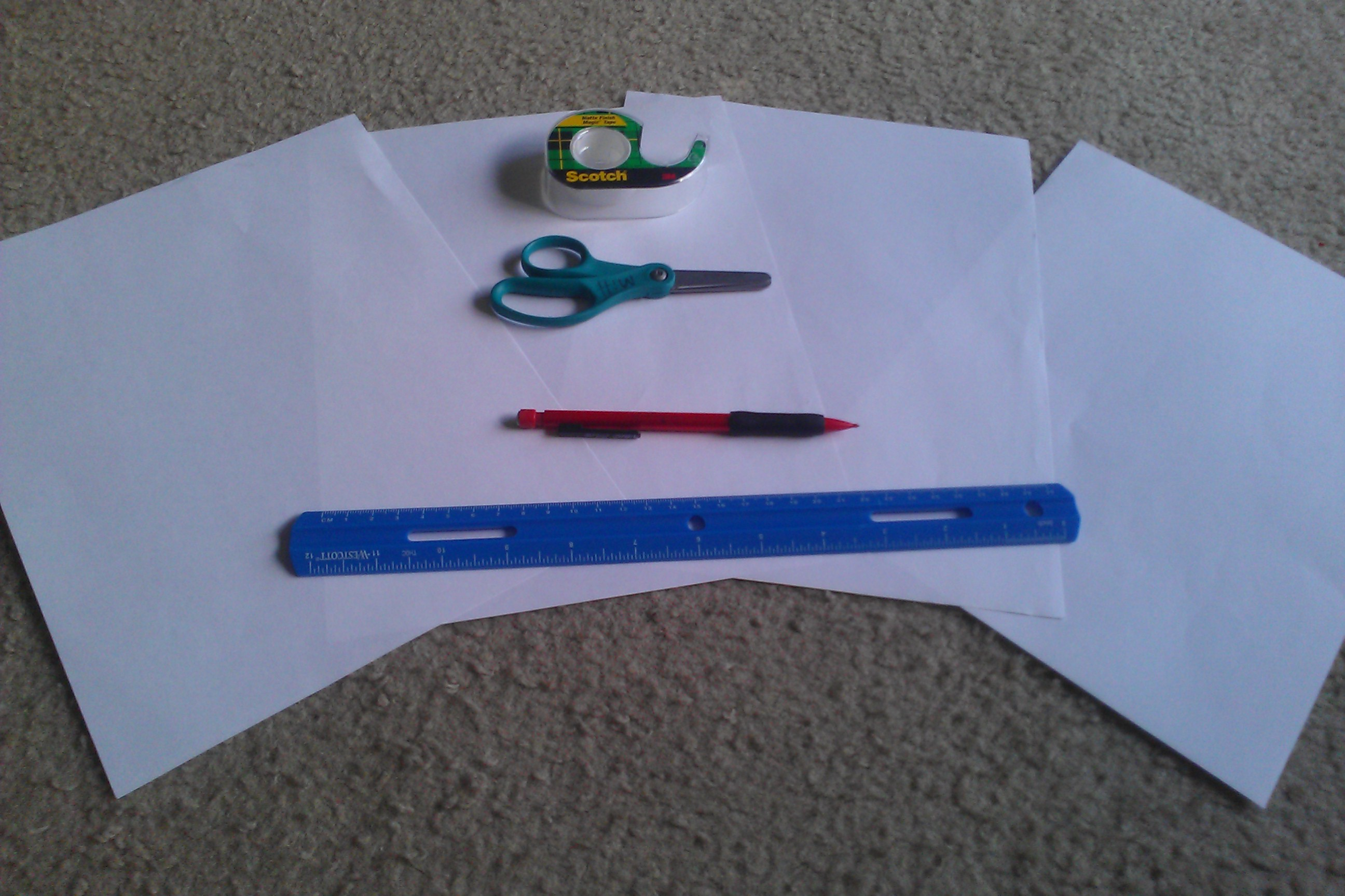 Picture of Papering: Tier One; Materials