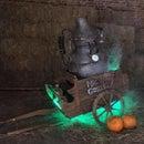 Spooky ghost cart