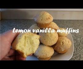 Lemon Vanilla Muffins Recipe