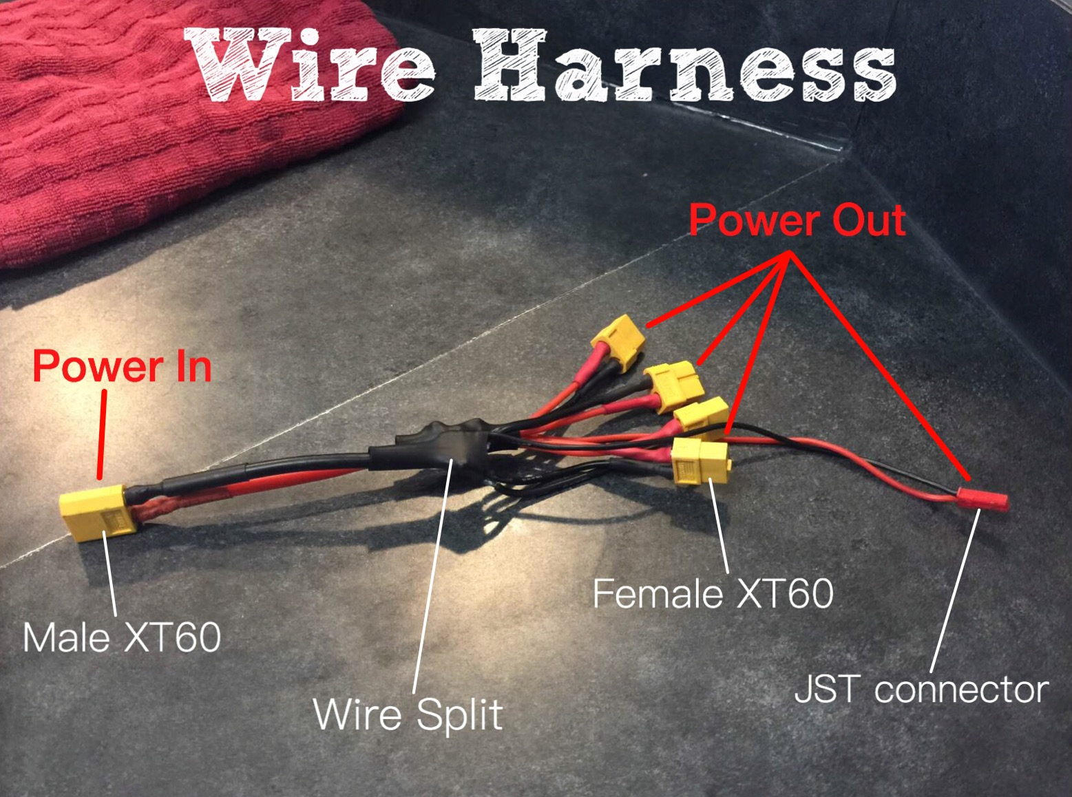 Picture of Wire Harness and Electronics Installation