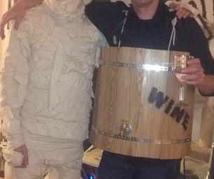 Wine Barrel Costume