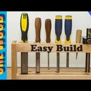 Woodworking projects for beginners:  Make a DIY Chisel Rack