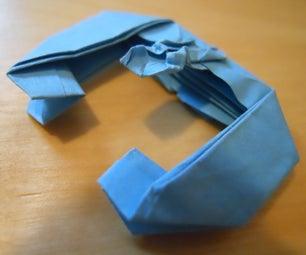 Origami Lucrehulk-Class Battleship
