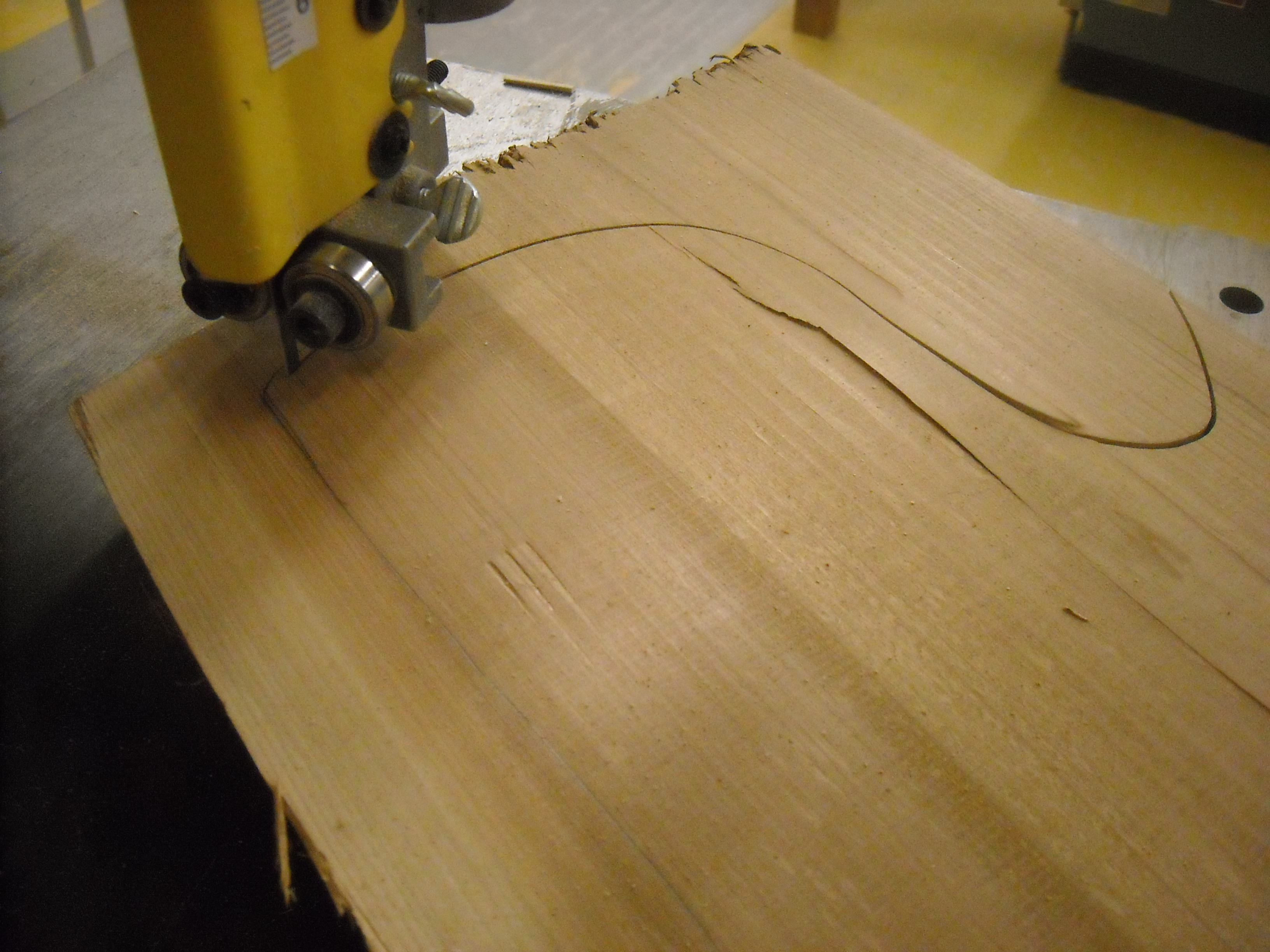 Picture of Cutting Out the Bits