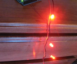 How to make a string of LED's in parallel for arduino