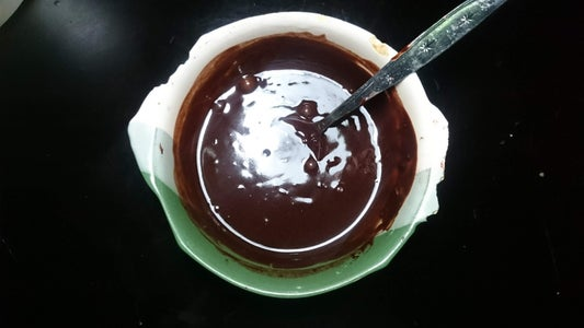 Making the Chocolate Glaze
