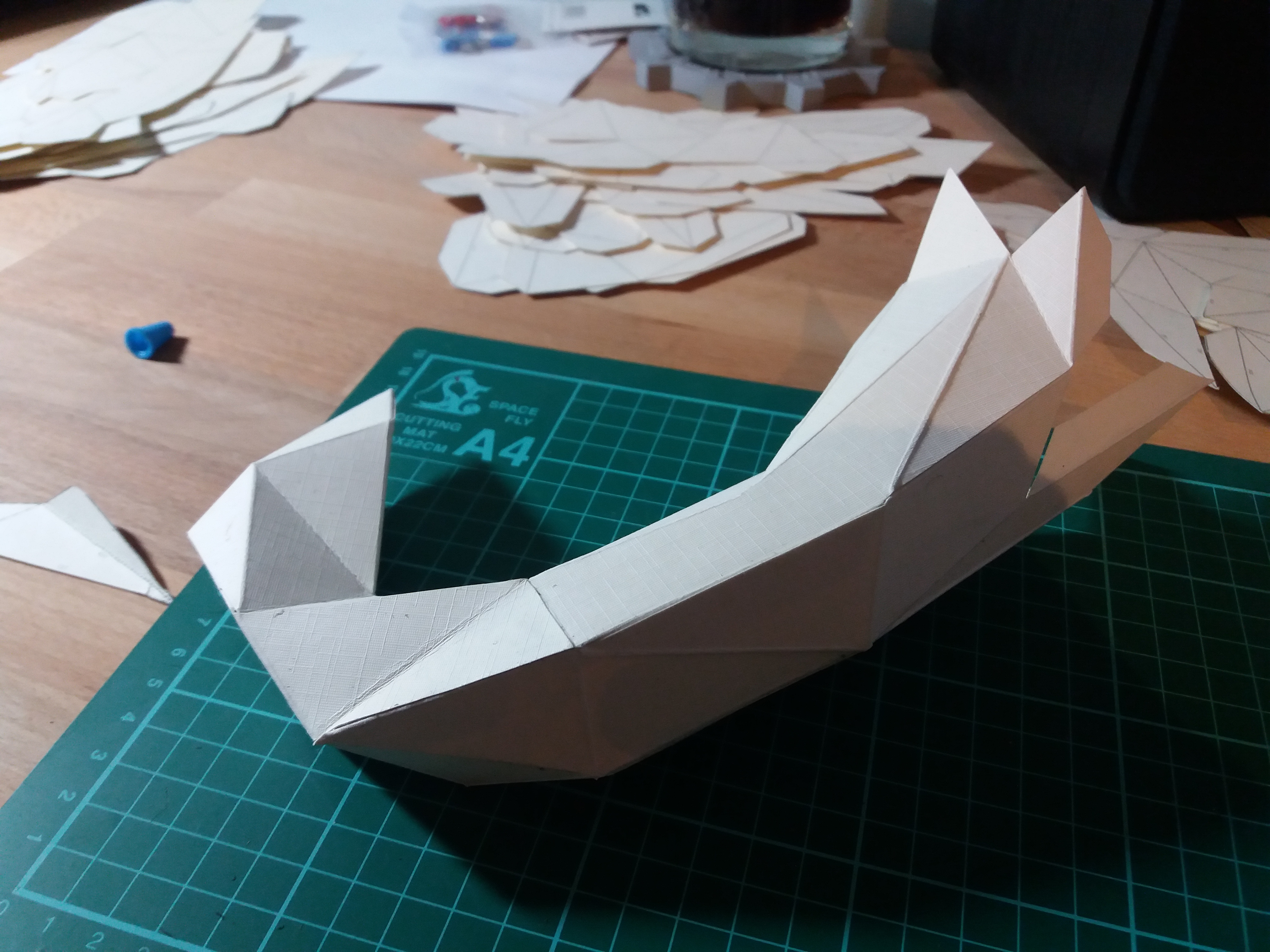 Picture of Cutting and Assembling Your Model