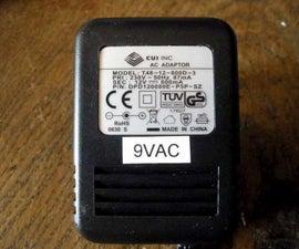 9VAC power supply for x0xb0x