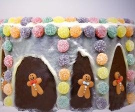 CHRISTMAS GINGER CAKE WITH BAILEYS BUTTERCREAM