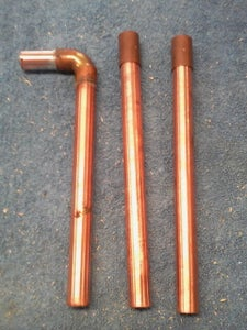 Copper Pipe for the Stem