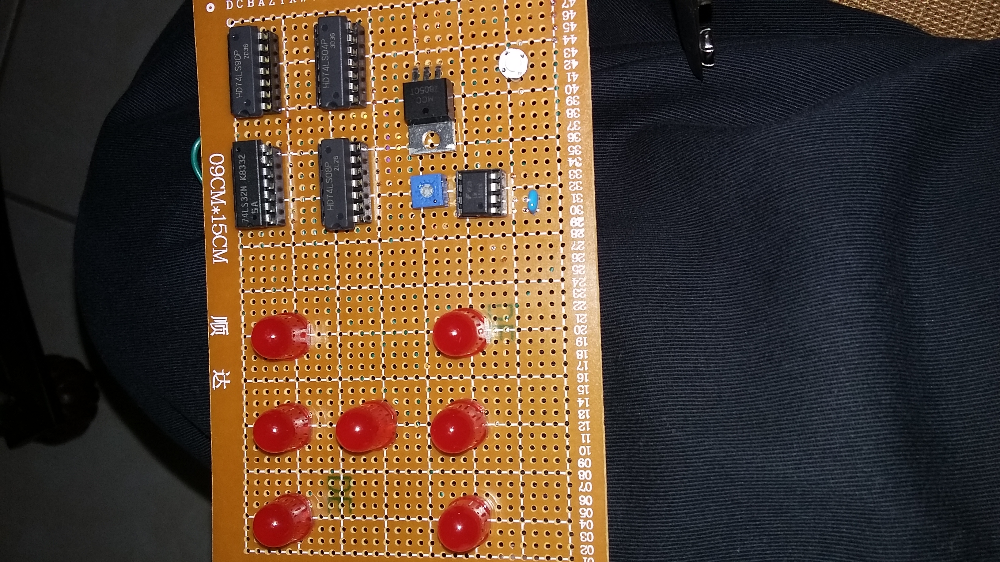 Picture of Install the Integrated Circuits(IC)