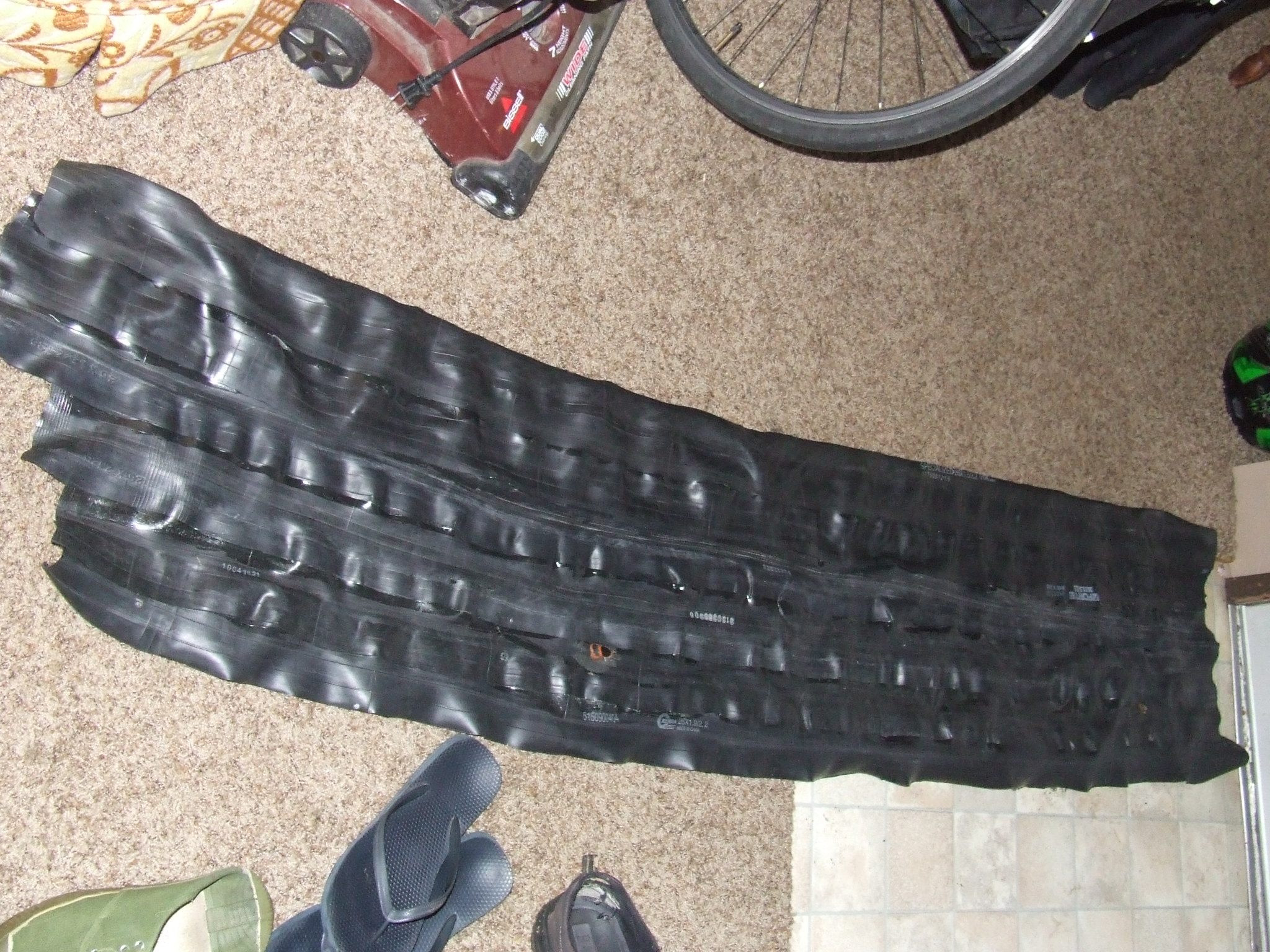 Picture of Inner Tube Bicycle Pannier