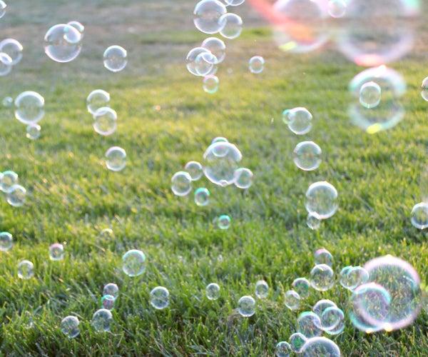 DIY Bubble Solution