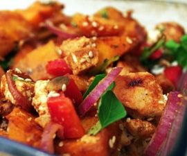 Roasted Pumpkin Salad - Thanksgiving Dinner