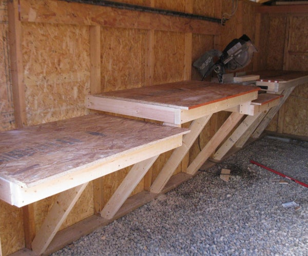 2x4 Work Bench for Cheap