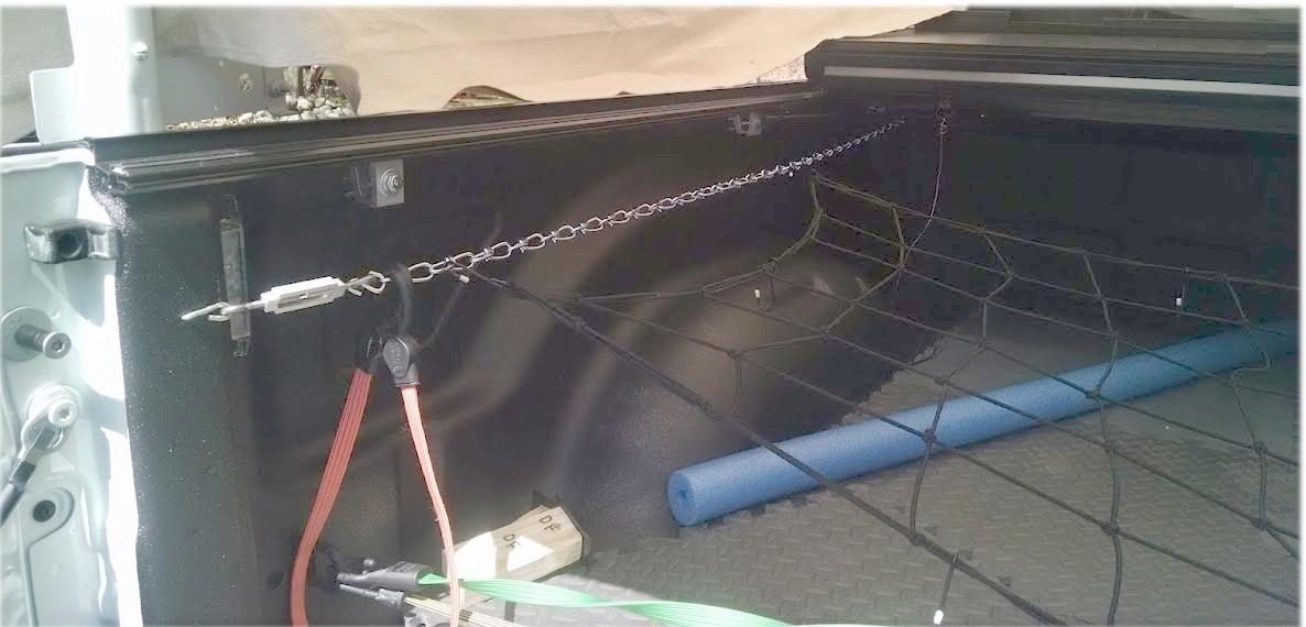 Picture of  Tie Downs Points for Pickup Truck; Easy, Effective, Cheap