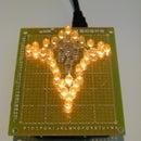 Flickering LED star!