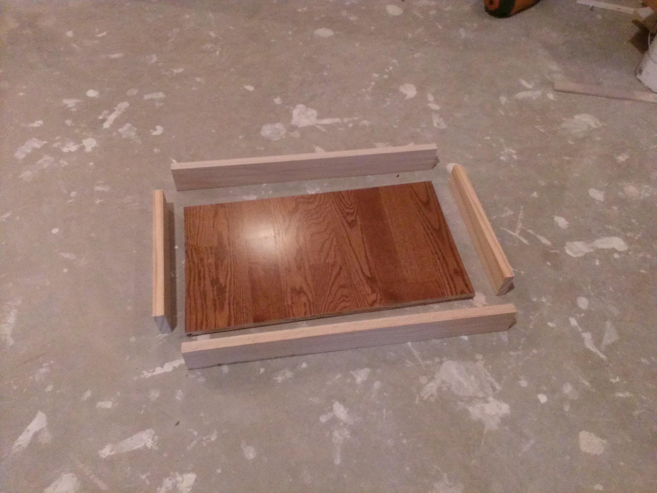 Picture of Cut and Stain Sides