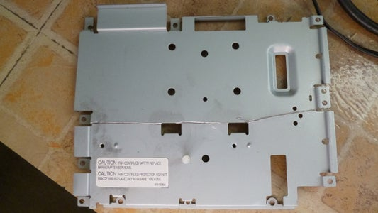 Trim the Metal Drive Support for Better Airflow