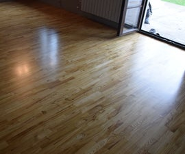 Perfectly Smooth and Breathtaking Wooden Floor (how to Put a Laquer)