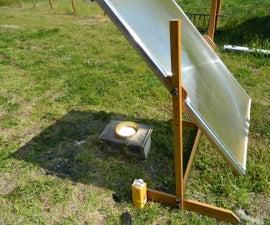 solar lens from TV