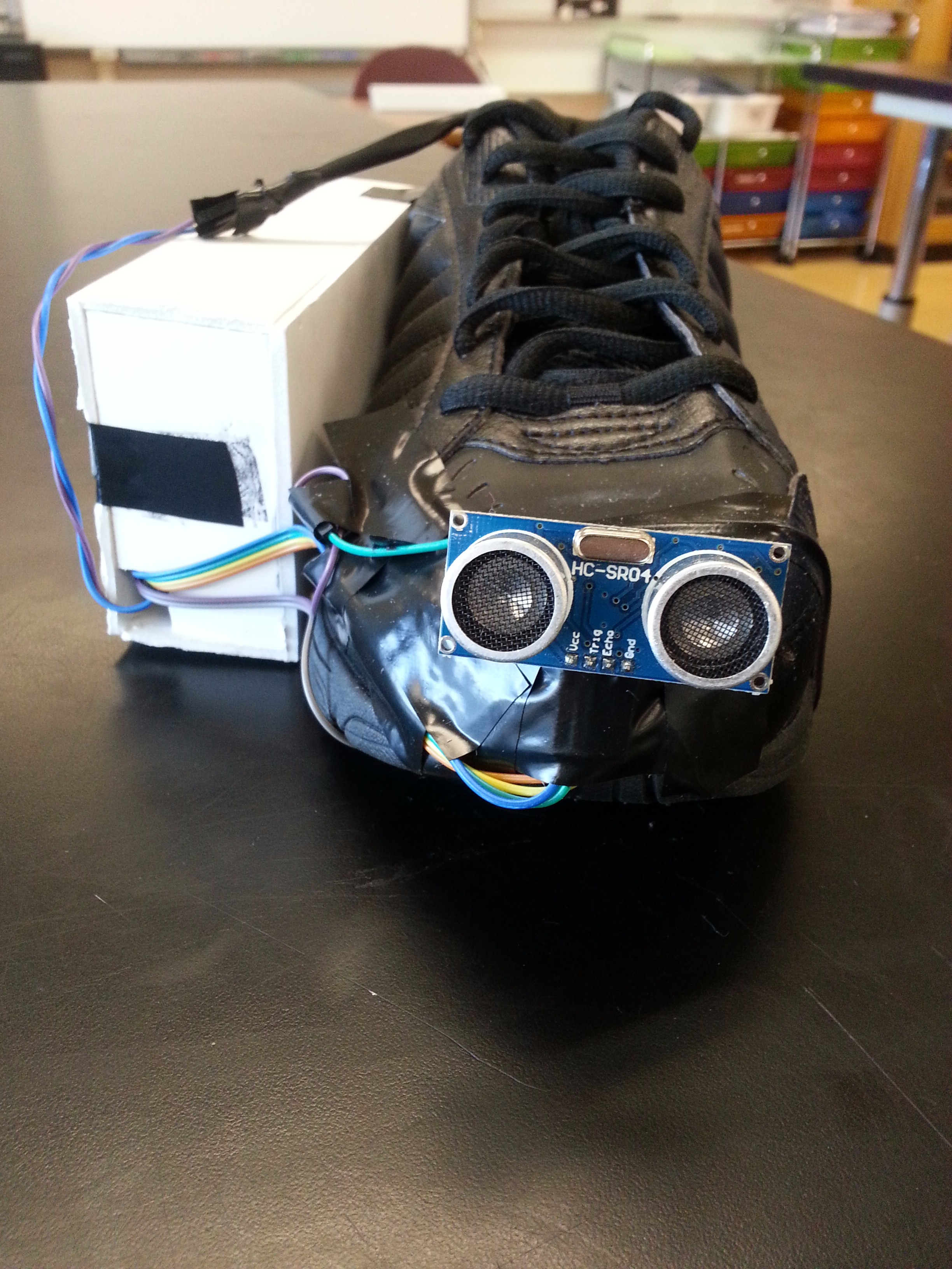 Picture of Vision Shoe (Shoe for the Blind)