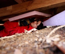Insulating a Floor Underneath the Crawlspace