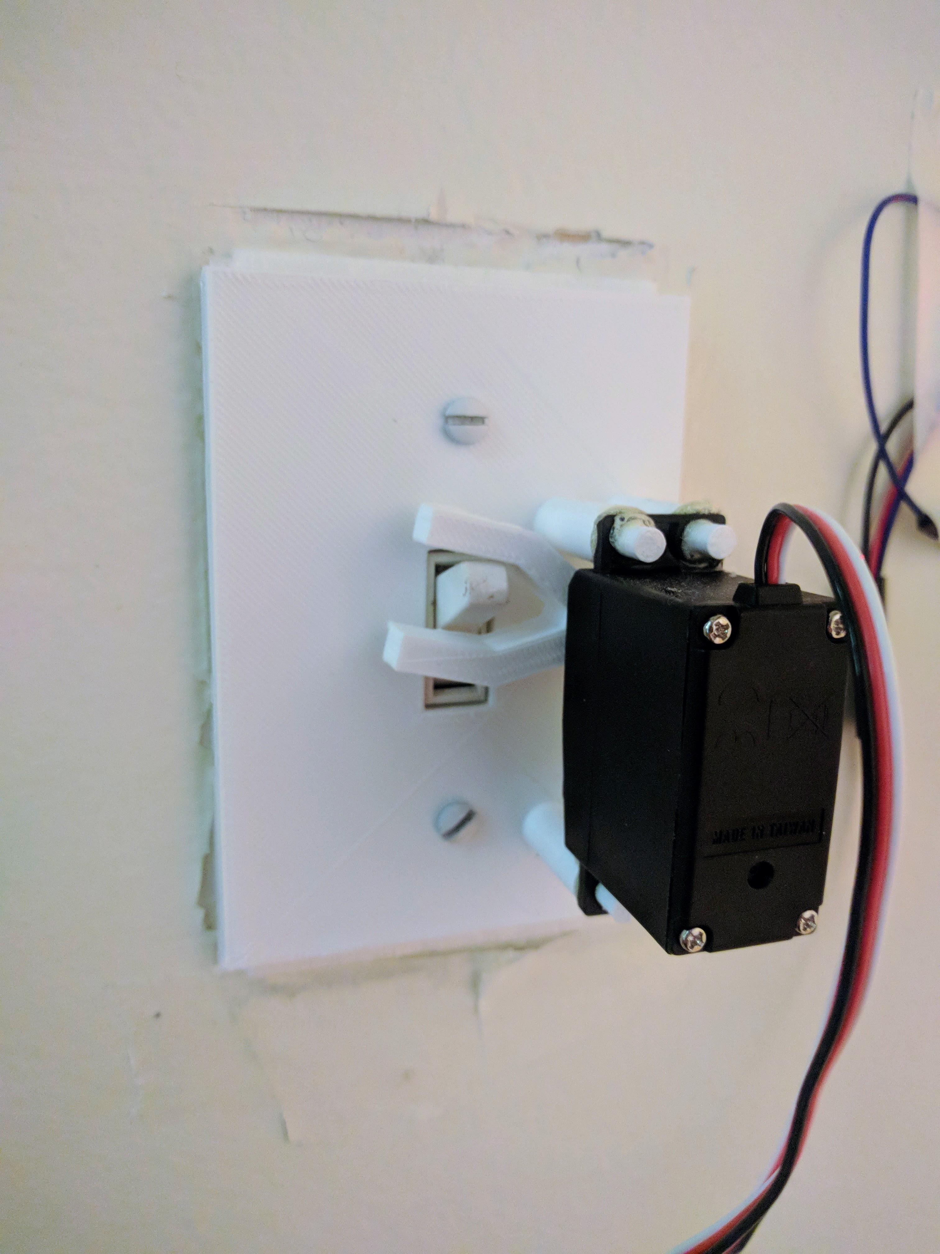 Picture of Wifi Light Switch Raspberry Pi Web Server