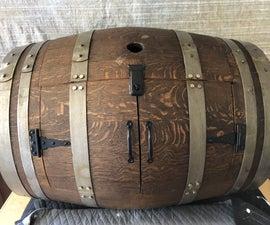 Wine Barrel Wardrobe