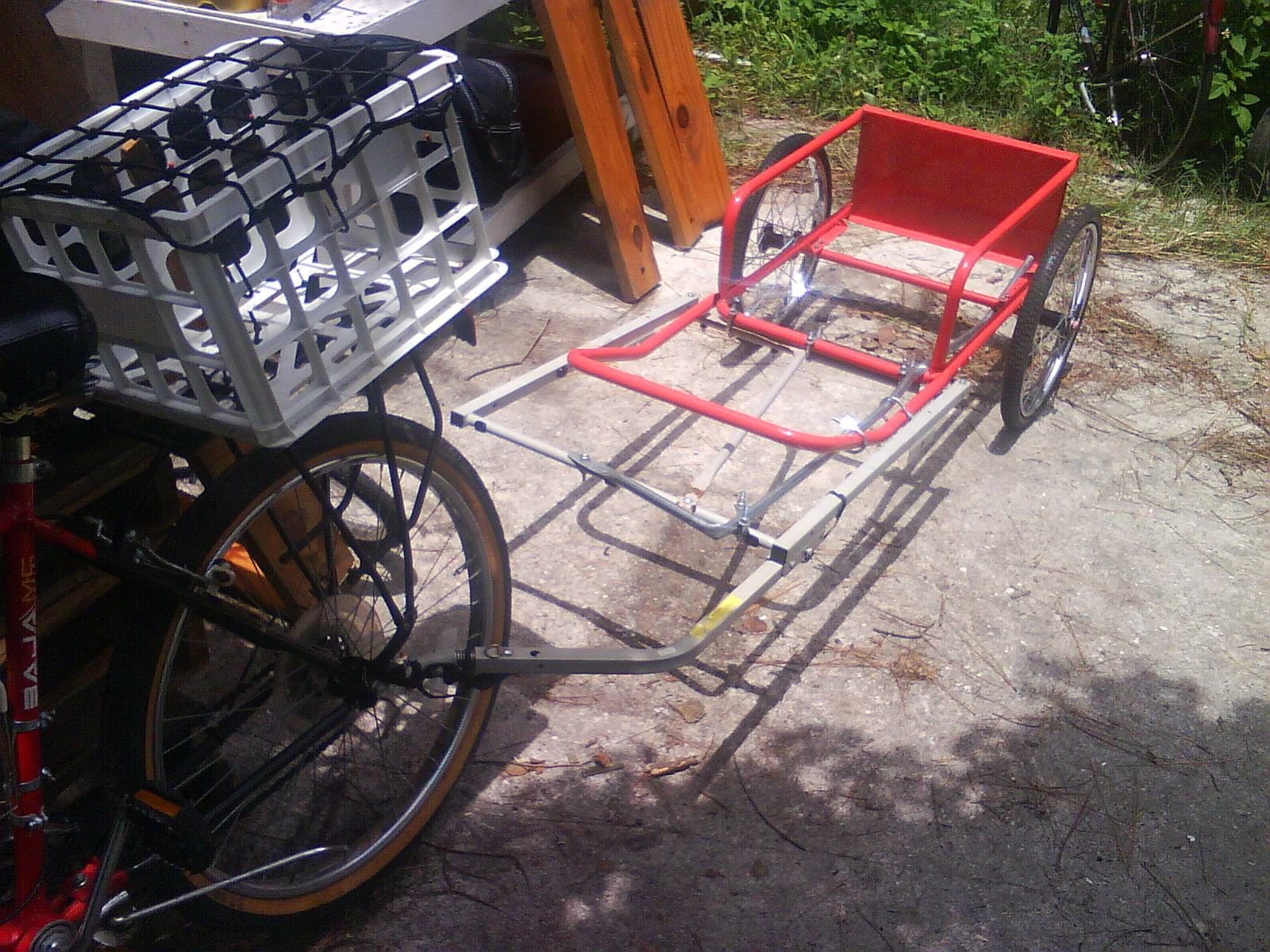Picture of Combined Cart Bike Trailer