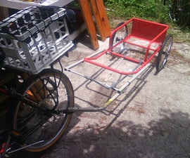 Combined cart bike trailer