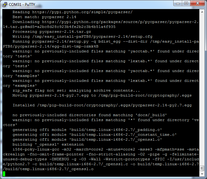 Picture of Installing Google API